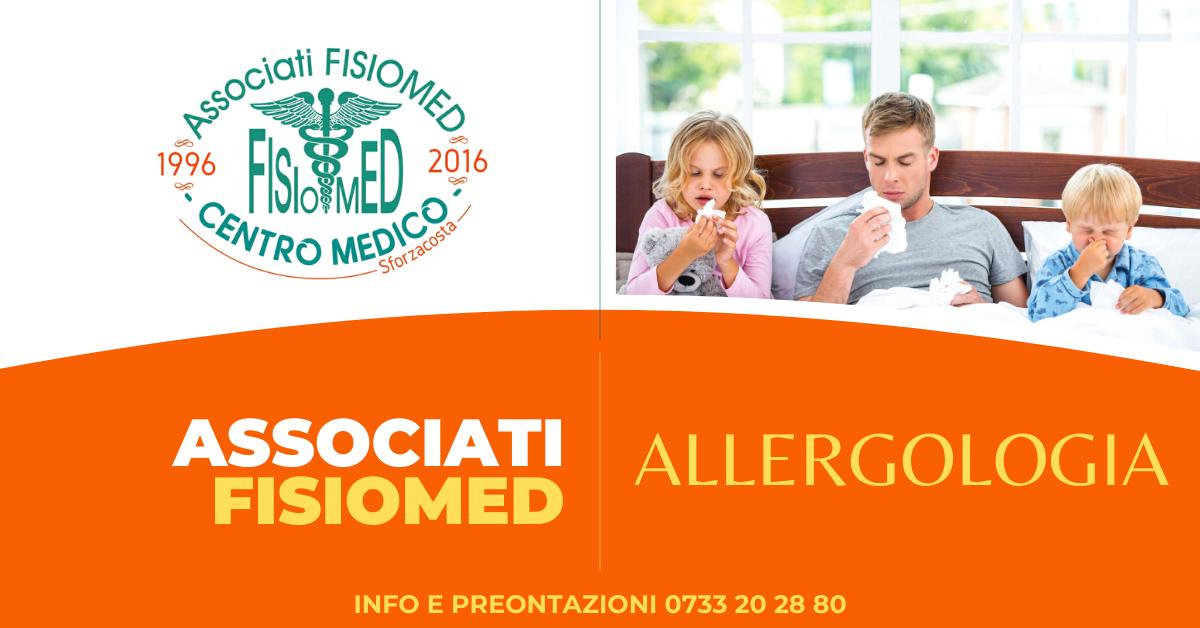 allergologia e prove allergiche fisiomed sforzacosta